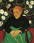 Vincent van Gogh Madame Roulin Rocking the Cradle painting